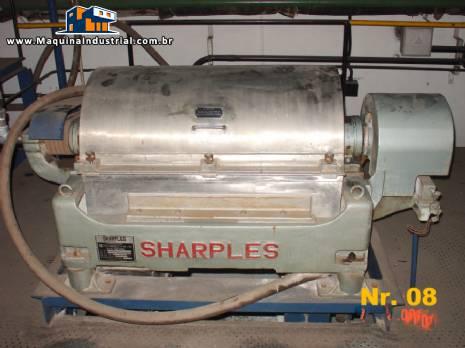 Centrifuga Decanter em inox 316 L, Sharples