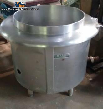Panelão industrial para alimentos com 50 litros