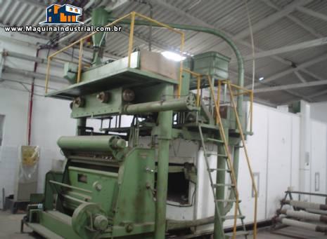 Linha industrial para produção de macarrão massa longa spaghetti