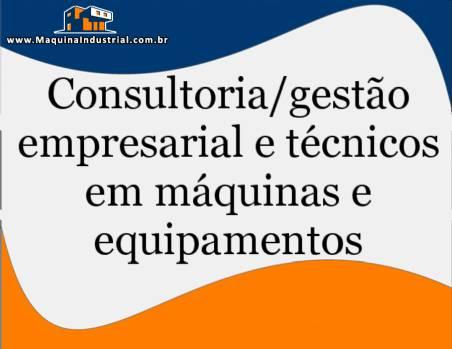 Técnico / Consultoria em máquinas de embalagens, dosadoras e recravadeiras