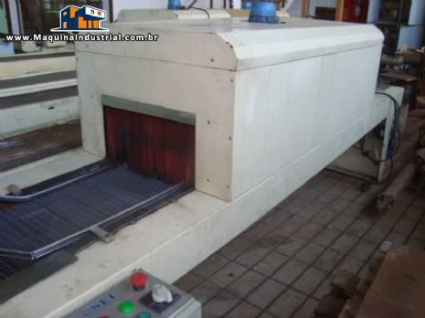 Túnel com câmara de 80 x 80 x 50 cm, e esteira de 120 cm