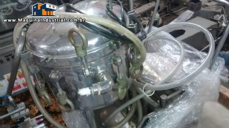 Reator de aço inox capacidade de 50 litros