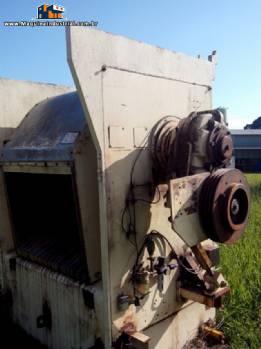 Masseira / misturador industrial em aço inox com tombamento