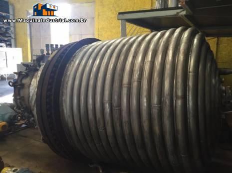 Reator de pressão 6.000 litros Pfaudler