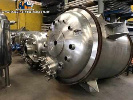 Reator de pressão para 4.000 L Inoxil