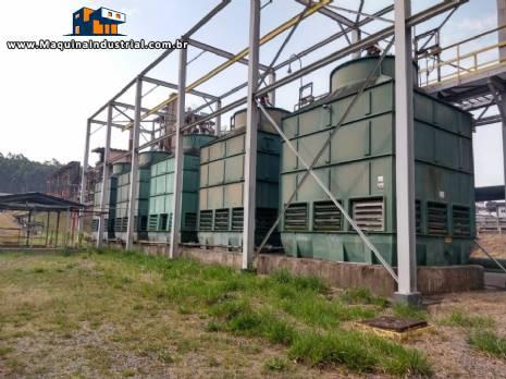 Torre de resfriamento á água 250 m³ KWCA