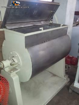Misturador industrial de pás 150L em inox