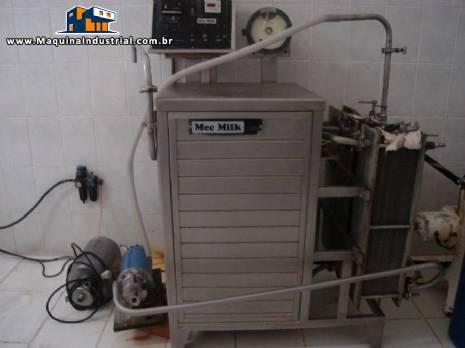 Pasteurizador para leite